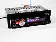 Автомагнитола Pioneer 1087 ISO Съемная панель Usb+Sd+Fm+Aux+ пульт, фото 3