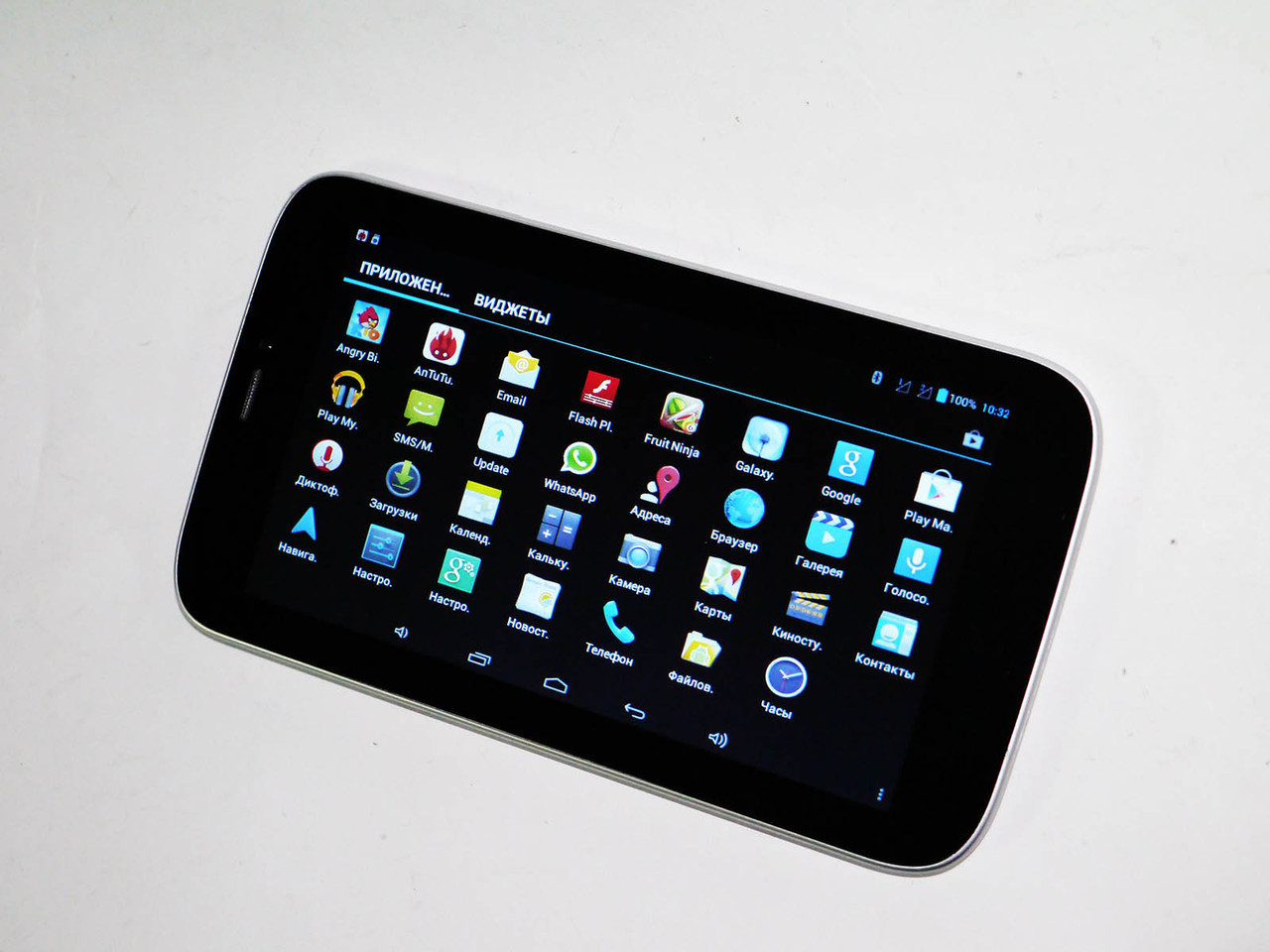 "7"" Планшет-телефон Samsung T736 Белый 2G Dual Core"