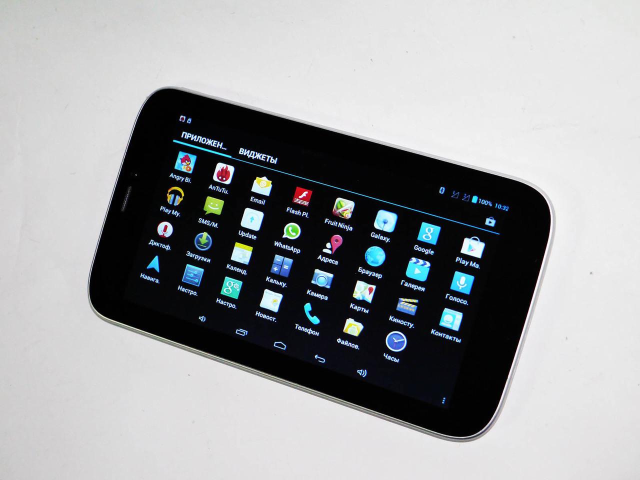 "7"" Планшет-телефон T736 Белый 2G Dual Core"