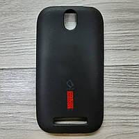 Чехол силиконовый для HTC Desire SV / t326e Capdays чёрный