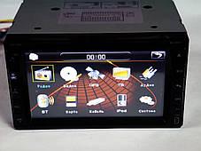 """Магнитола Pioneer Pi999 2din GPS 6,5"""" DVD + USB + TV + Bluetoth, фото 3"""
