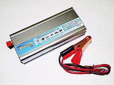 Преобразователь напряжения, инвертор 12V-220V 2500W TBE, фото 2
