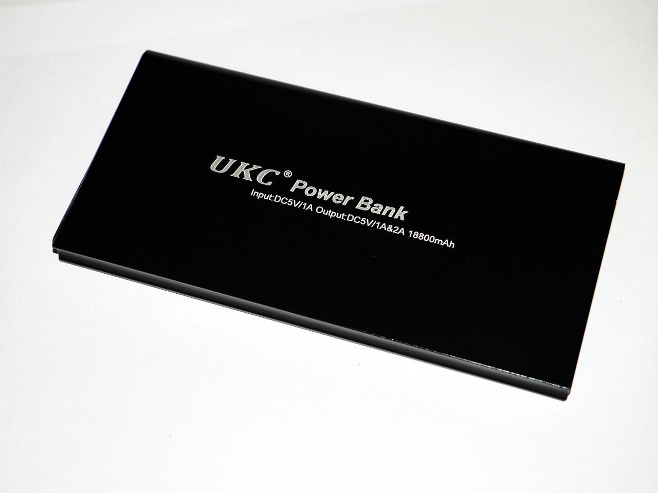 Power Bank UKC 18800mAh Тонкий Внешний Аккумулятор