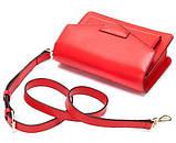 Жіночий клатч Vintage 14901 Червоний, Червоний, фото 6