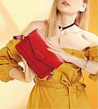 Жіночий клатч Vintage 14901 Червоний, Червоний, фото 10
