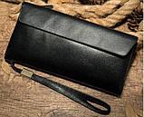 Клатч унісекс Vintage 14904 Чорний, Чорний, фото 6