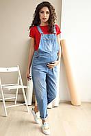 Летний джинсовый комбинезон для беременных, от 42 до 48 размера