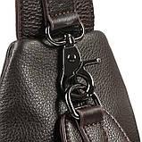Сумка чоловіча через плече Vintage 14952 Коричневий, Коричневий, фото 7