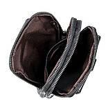 Сумка чоловіча через плече Vintage 14957 Чорна, Чорний, фото 6