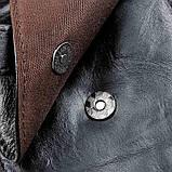Сумка чоловіча через плече Vintage 14957 Чорна, Чорний, фото 8