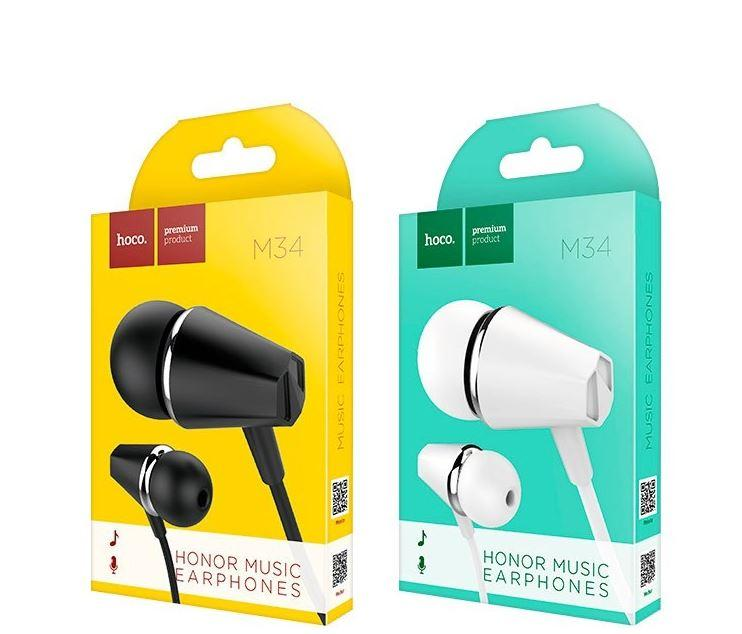 [ОПТ] Вакуумные проводные наушники Hoco M34 с микрофоном