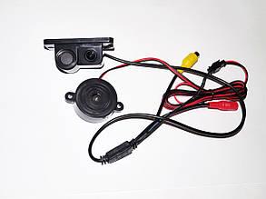 Камера заднего вида + Парктроник 2в1, фото 2