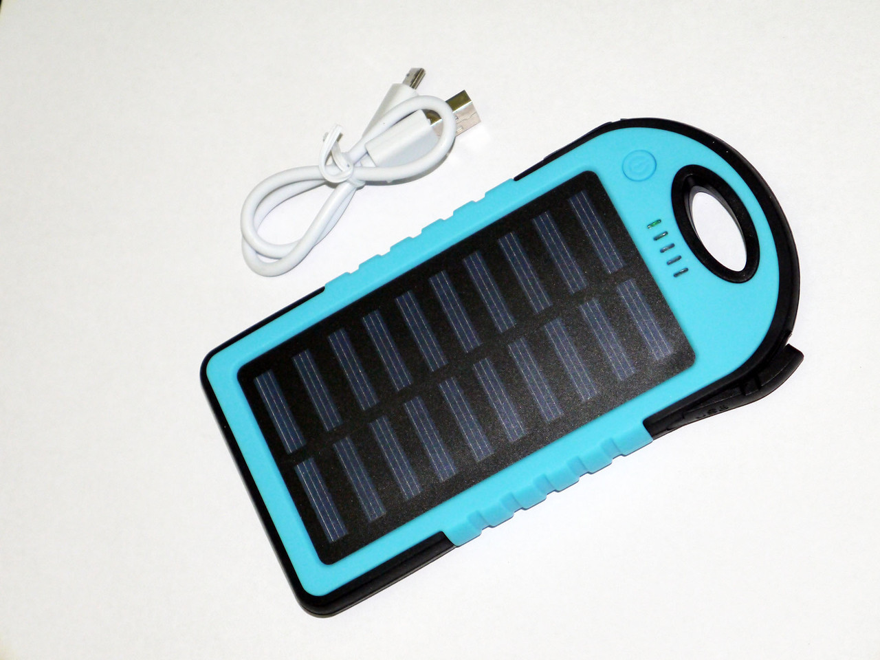 Power Bank 20000 mAh +LED Фонарь Солнечное зарядное устройство