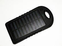 Power Bank 20000 mAh +LED Фонарь Солнечное зарядное устройство, фото 3