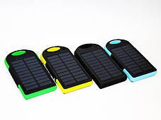 Solar 45000 mAh + LED фонарик Power Bank Солнечное зарядное устройство, фото 2