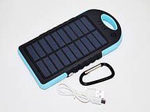 Solar 45000 mAh + LED фонарик Power Bank Солнечное зарядное устройство, фото 3