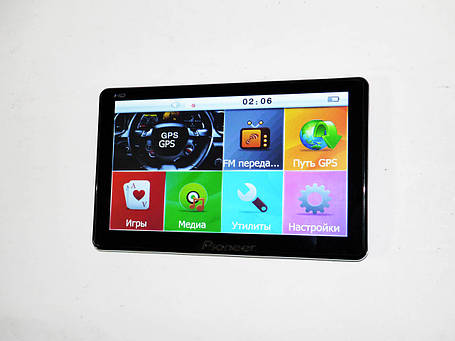 "7"" GPS навигатор Pionee HD 4Gb+FM (IGO+Navitel), фото 2"