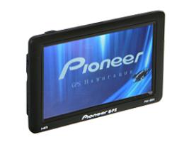 GPS навігатор Pioneer GSM 555 HD, Sim-карта + відеовхід +4Gb