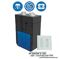 Вентс ВУТ 270 В5Б ЕС А14. Приточно-вытяжная установка с рекуператором.
