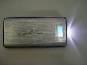 Power Bank Mi 28800 mah LCD 3 USB Портативная зарядка Серый, фото 2
