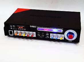 Усилитель звука UKC KA-123 BT 2*150 + КАРАОКЕ, фото 2