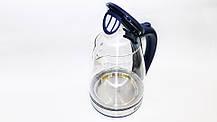 Domotec MS-8111 2200W 2L Чайник электрический (стеклянная колба)  LED подсветка, фото 2