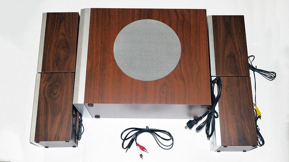 Sea Piano SP-6600a 4.1 Компьютерные колонки с сабвуфером (дерево)