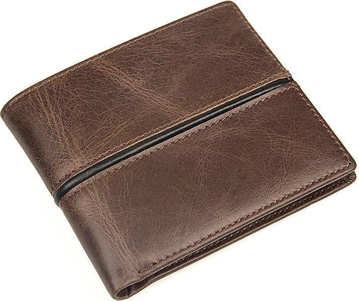 Кошелек мужской Vintage 14472 Коричневый