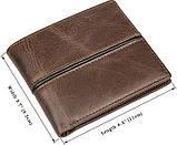 Кошелек мужской Vintage 14472 Коричневый, фото 2