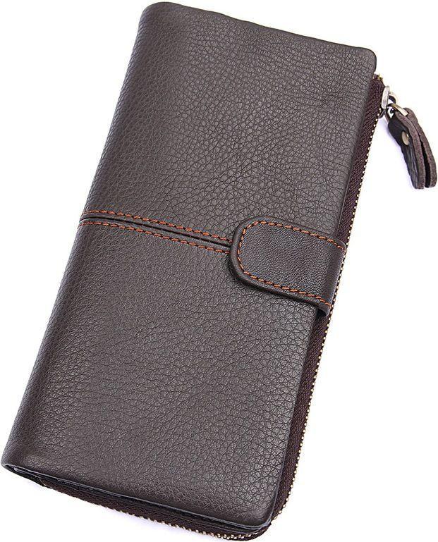Гаманець Vintage 14487 шкіряний коричневий