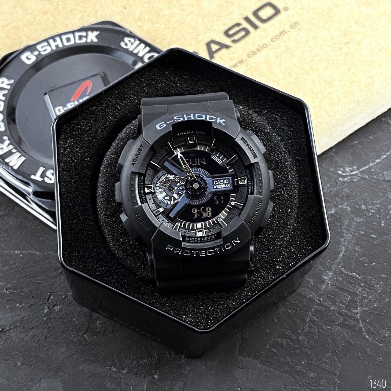 Мужские спортивные наручные часы Casio G-SHOCK GA-110-1BER