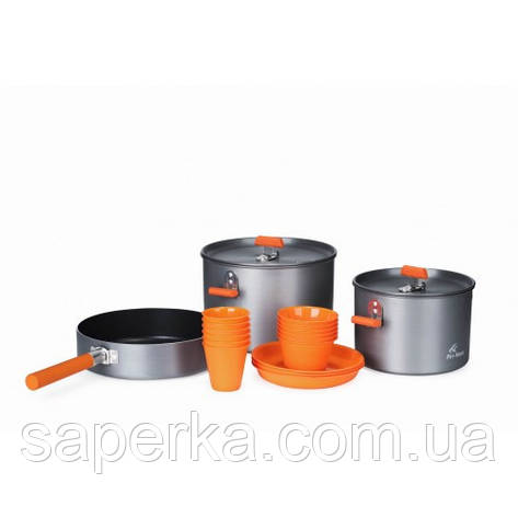 Набор туристической посуды для 5-6 персон Fire-Maple Feast 6, фото 2