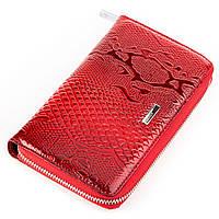 Кошелек женский KARYA 17003 кожаный Красный