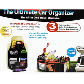 Набор автомобильных органайзеров  Ultimate Car Organizer, фото 3