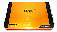 Автомобильный усилитель звука UKC Riot P4800.4 4000Вт 4-х канальный, фото 3