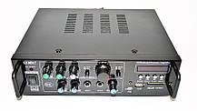 Усилитель UKC AV-323BT + КАРАОКЕ 2микрофона, фото 2