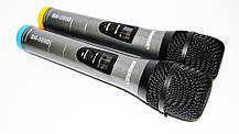 Радиосистема SHURE SH-588D база 2 радиомикрофона, фото 3