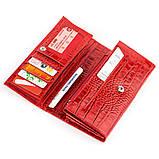Кошелек женский CANPELLINI 17053 кожаный Красный, фото 3