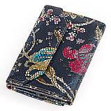 Женский кошелек Desisan 17057 кожаный Хохлома, фото 2