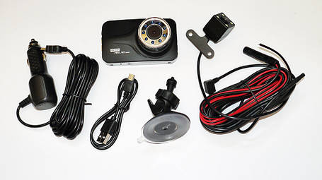 DVR T639 Full HD с выносной камерой заднего вида, фото 2