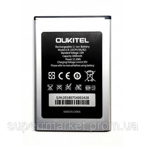 Аккумулятор Oukitel C8, фото 2
