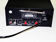 Підсилювач звуку UKC SN-805U USB+SD+FM+Karaoke, фото 3