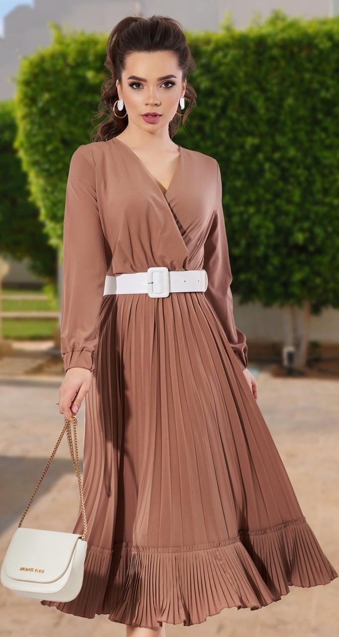 Сукня жіноча кольору кориці 42,44,46,48 р.