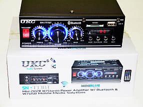 UKC SN-777BT Bluetooth Стерео Підсилювач звуку