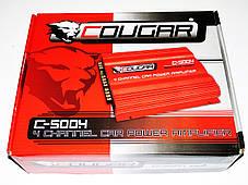 4-х канальный усилитель Cougar 500.4 1600Вт, фото 2