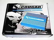 4-х канальный усилитель Cougar 700.4 2000Вт, фото 2