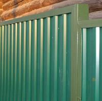 Стеновой профнастил (для забора, обшивки) от производителя