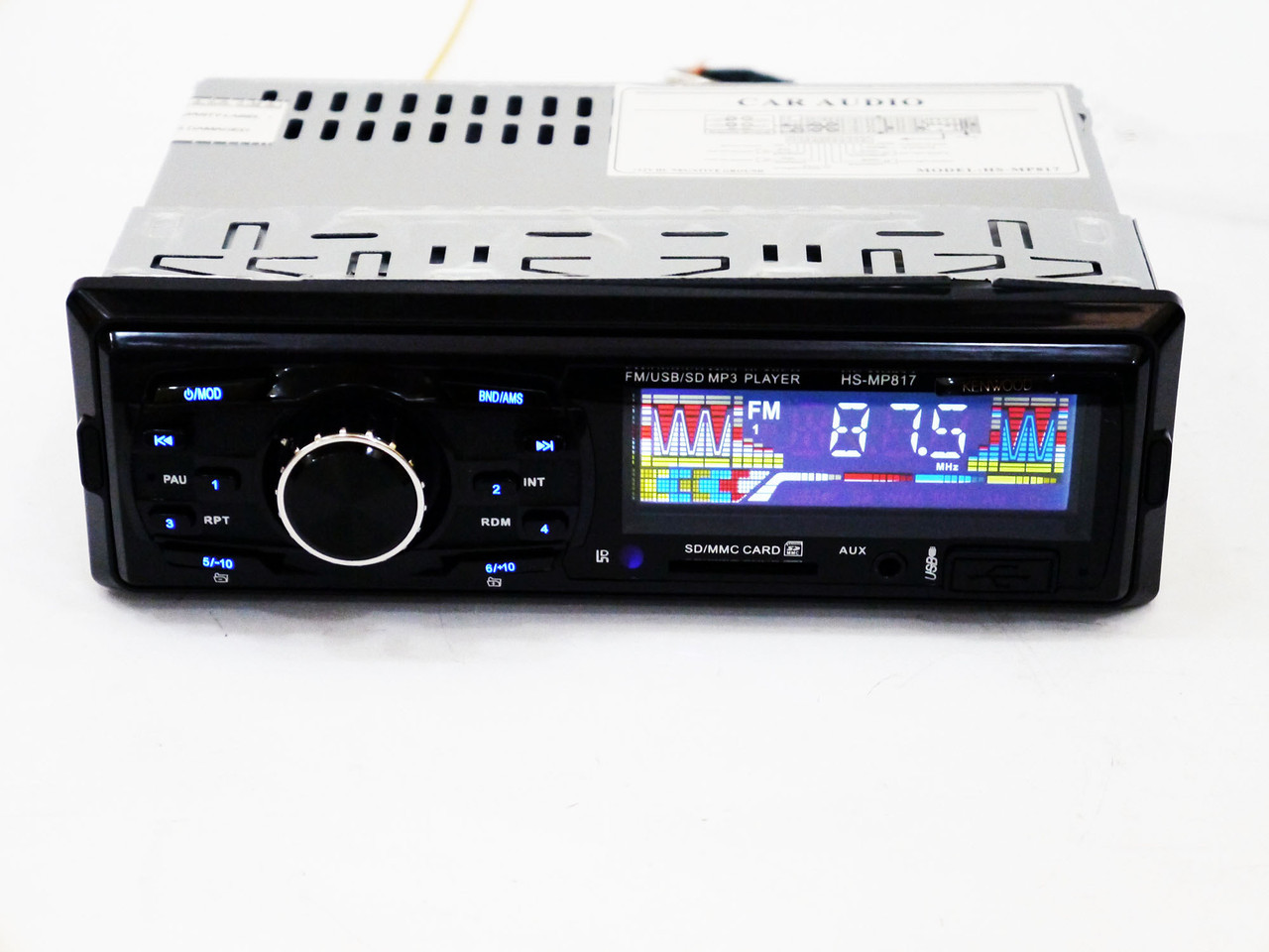 Автомагнитола Kenwood HS-MP817 - MP3 Player, FM, USB, SD, AUX
