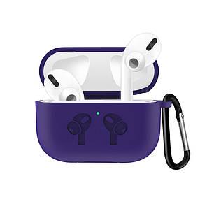 Чехол Grand для наушников Apple AirPods Pro Silicone Case Ultra Violet (AL4412)