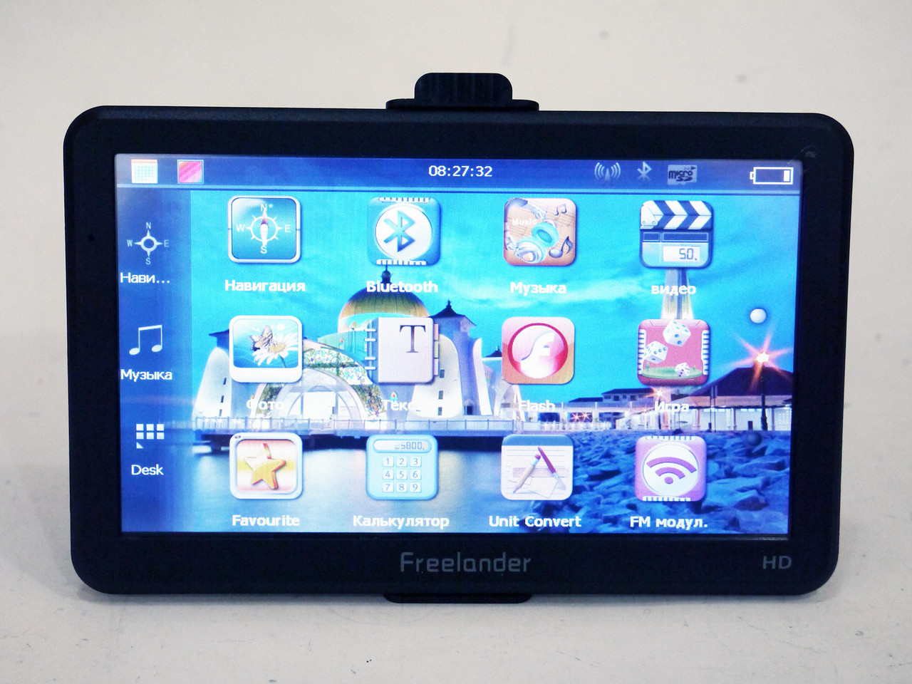 "7"" GPS навигатор Freelander 7032 4Gb Bluetooth + IGO+Navitel+CityGuide"